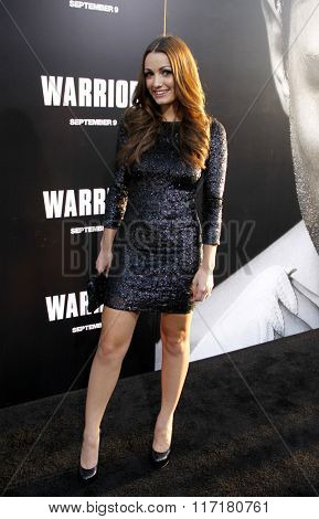 Julia Stockstad at the Los Angeles premiere of