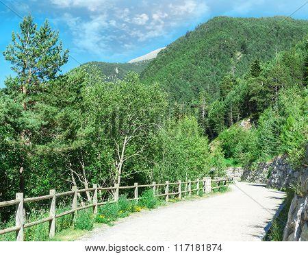 The Picturesque Mountain Landscape