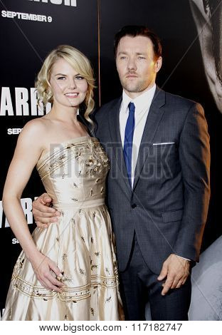 Jennifer Morrison and Joel Edgerton at the Los Angeles Premiere of
