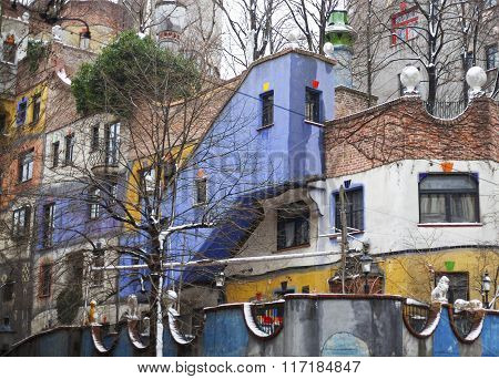 Colored House.