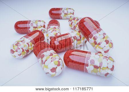 Big Multicolor Pills