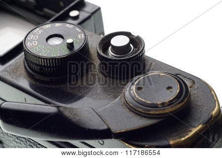 Part Of The Old Dirty Photographic Camera