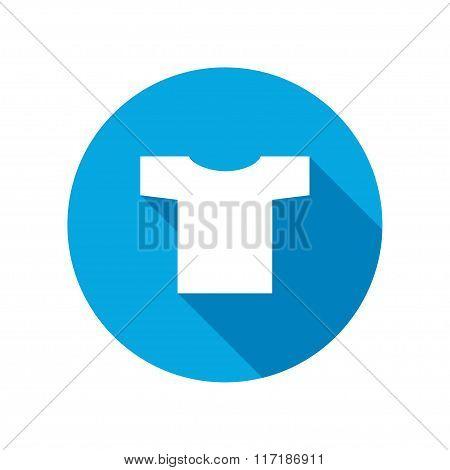 Tshirt icon. Clothing symbol.