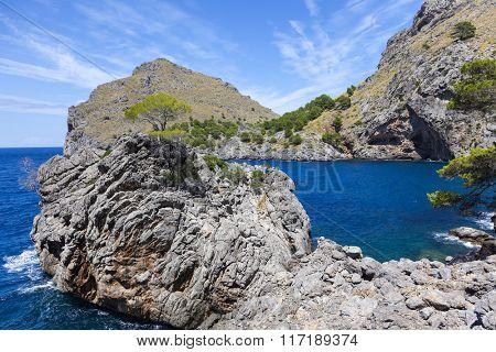Sa Calobra coast, Mallorca island, Spain