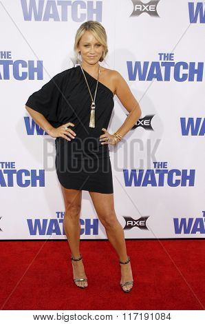 Christine Taylor at the Los Angeles premiere of