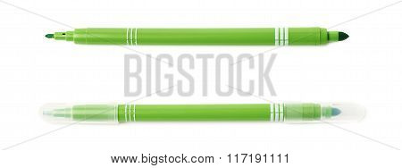 Felt-tip pen marker isolated