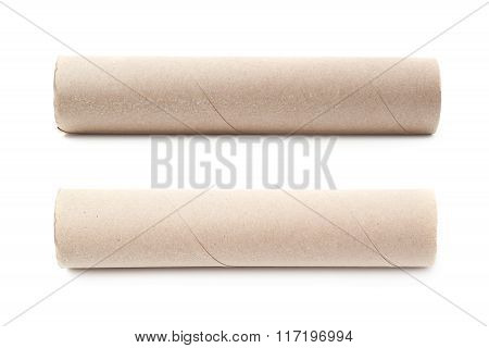 Empty tissue tube isolated