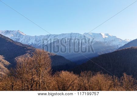 Morning Light In The Mountains