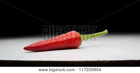 Ripening Chili Peppers. Red And Be Very Hot!