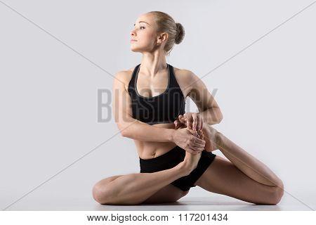 Vamadevasana Yoga Pose