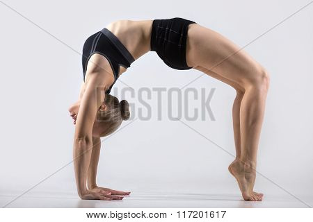 Variation Of Bridge Pose