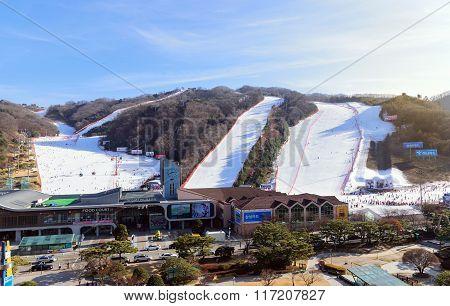 Vivaldi Park ski resort.
