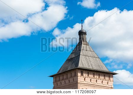 The Ancient Towers Of The Suzdal Kremlin.