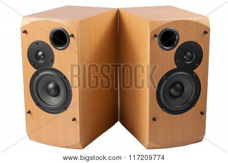 Speaker Isolated On White Background