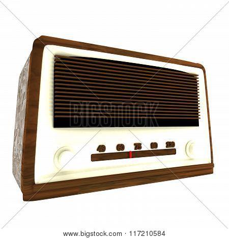 Old Radio, 3D