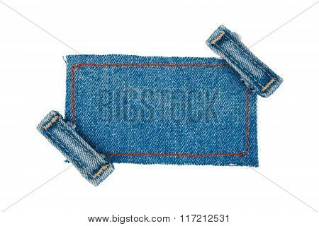 Frame With Two Straps Jeans
