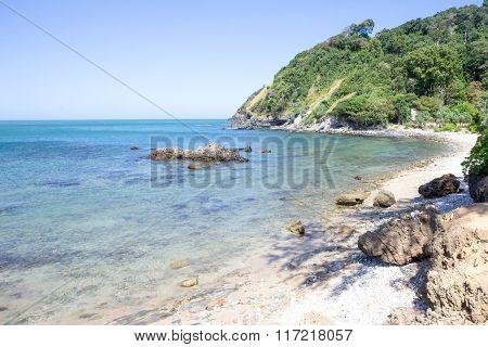 Beach at Cape Tanod,