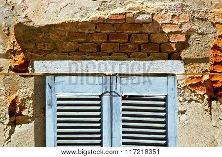 Window  Lonate Ceppino Varese Italy   Concrete  Blue