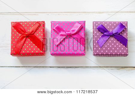 Colorful Gift Boxs