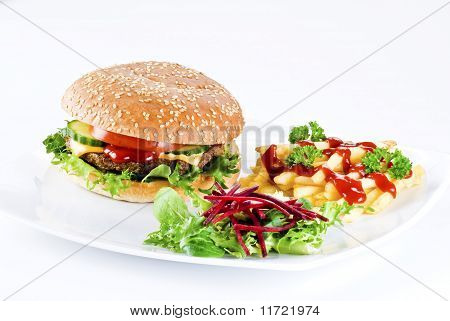 Beefburger Meal