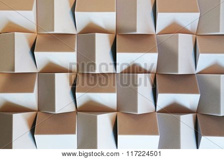 Abstract Pattern Of Cubes