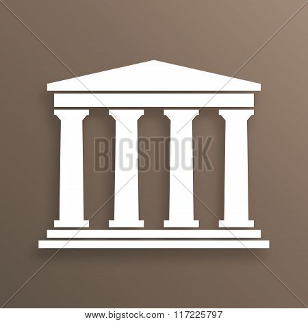Architecture greek symbol