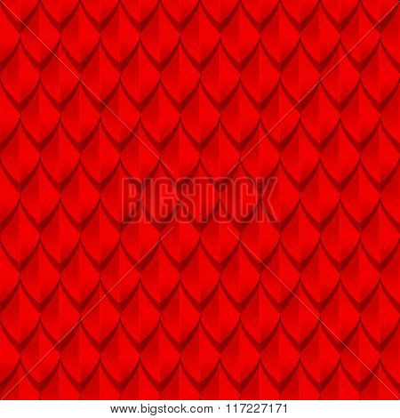 Red dragon scales seamless background texture
