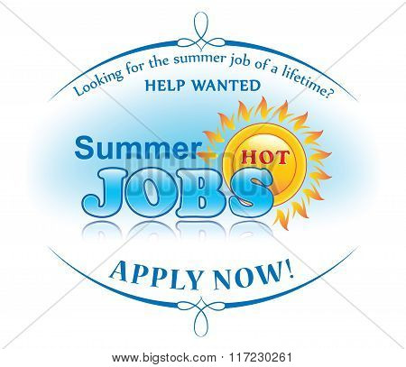 Summer jobs offer