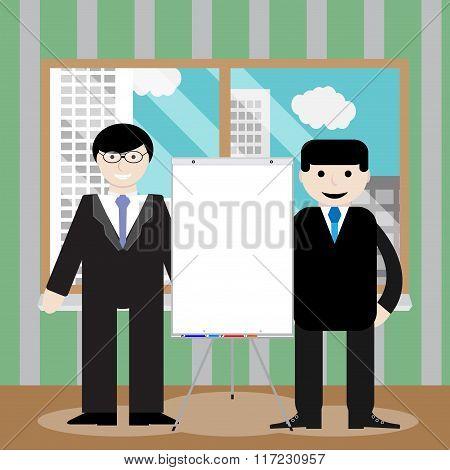 Business Team Show Presentation