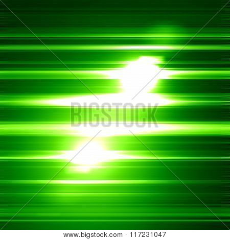 Glittering green background