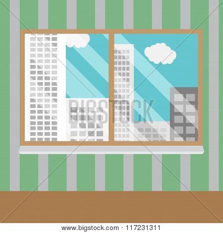 Business Views Window Office