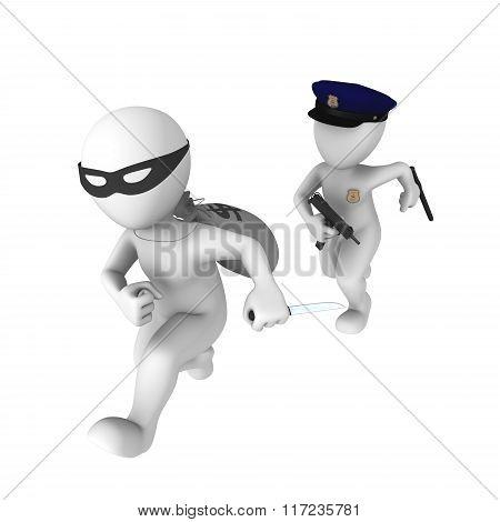 Arrest Of The Criminal
