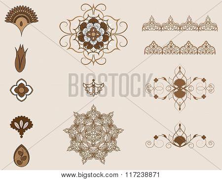 Ottoman Pattern Element