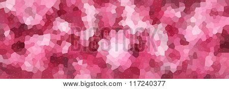 Vector Illustration - Polygonal Abstract Mosaic Colorful Banner