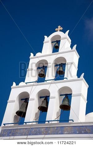 Church Bells, Santorini