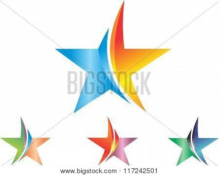 stock logo the stars