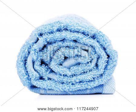 Rolled Bath Towel