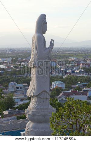 Bodhisattva Avalokiteshvara. Phan Thiet, Vietnam