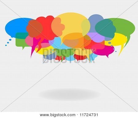 Talk And Speech Bubbles