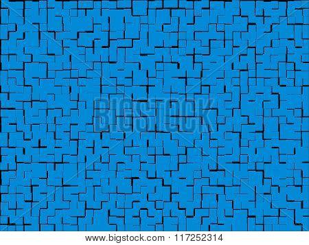 blue texture offset