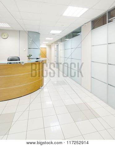 Business centre lobby