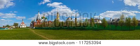 Churches in Kolomna Kremlin - Russia - Moscow region