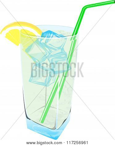 Fresh Lemonade drink ice fresh