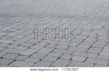 Grey Paved Road