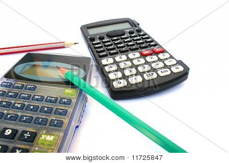 Calculators And Pencils