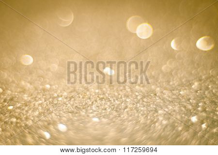 Abstract Defocused Blurred Glitter Background
