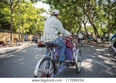 Local Rickshaw Driver