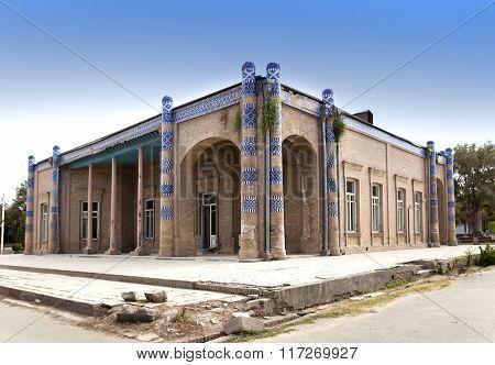 Palace of Nurullabay. Khiva Uzbekistan