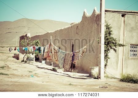 Village In The Ouarzazate, Morocco, Africa