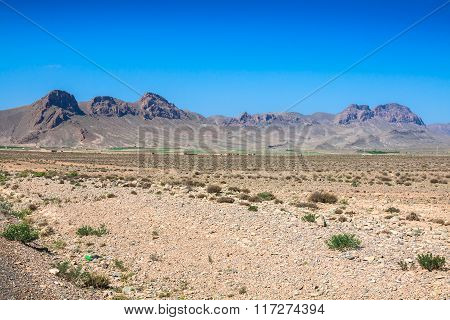Morocco Mountains In The Desert